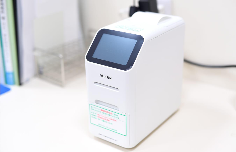 インフルエンザ迅速診断装置写真